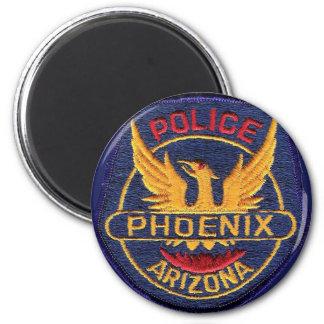 Botón del imán de la policía de Phoenix