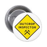 Botón del inspector del afloramiento pins