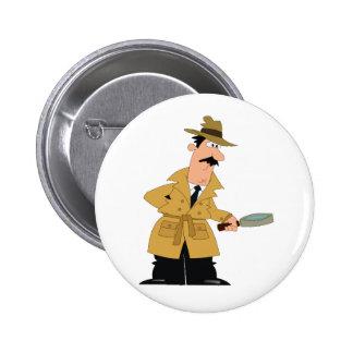 Botón del inspector (inspección de la casa) pin redondo de 2 pulgadas