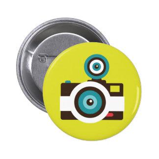 Botón del instinto de la cámara del juguete (Fishe