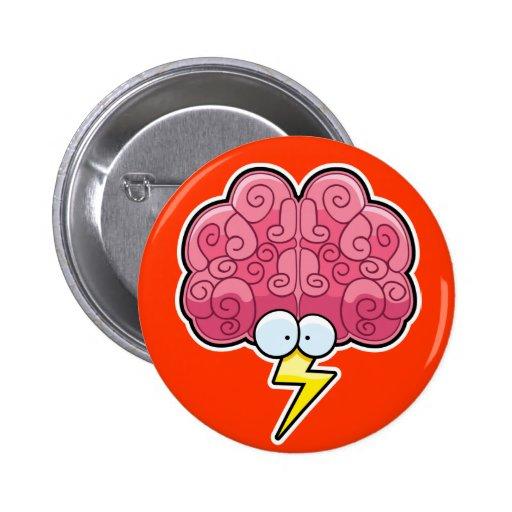 Botón del intercambio de ideas pin redondo de 2 pulgadas