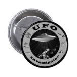 Botón del investigador del UFO Pins