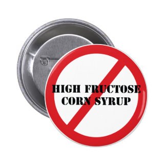 Botón del jarabe de maíz de la alta fructosa de la pins