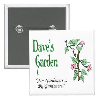 Botón del jardín de Dave Pin