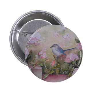 Botón del jardín de la primavera pin