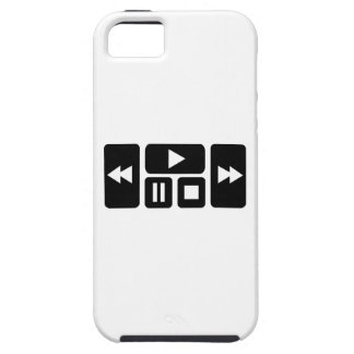 Botón del jugador iPhone 5 funda