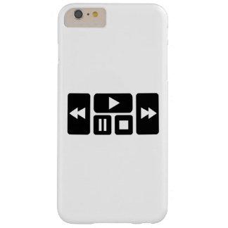 Botón del jugador funda para iPhone 6 plus barely there