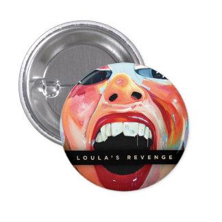 Botón del lagar de la máquina expendedora pin redondo de 1 pulgada