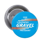 Botón del libertario de la GRAVA Pins