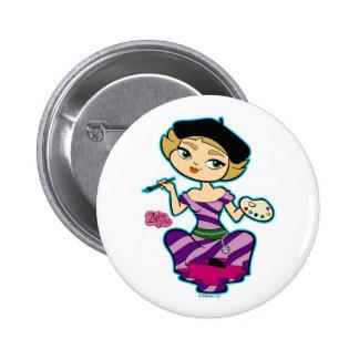 Botón del libra pin
