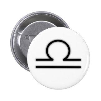Botón del libra pins