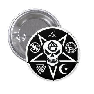 Botón del logotipo de Anarchotik Pin