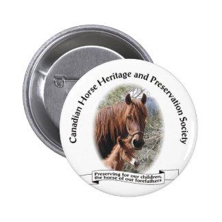 Botón del logotipo de CHHAPS Pin