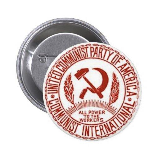 Botón del logotipo de CPUSA Pin