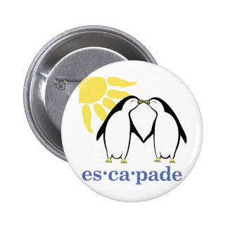 Botón del logotipo de la evasión pin