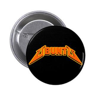 Botón del logotipo de la parodia de la roca de Ubu Pins