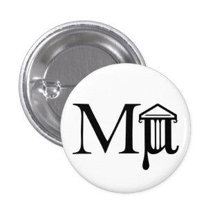 Botón del logotipo de Mµseum Pin