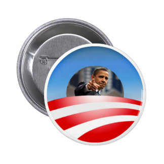 Botón del logotipo de Obama Pin