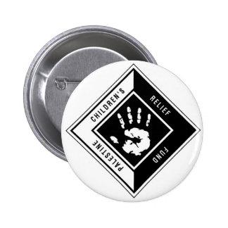Botón del logotipo de PCRF Pin Redondo De 2 Pulgadas