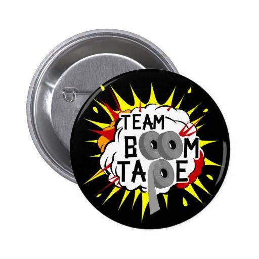 Botón del logotipo de TBT (negro) Pin