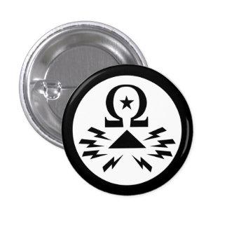Botón del logotipo de Telecomix Pin Redondo De 1 Pulgada