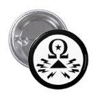 Botón del logotipo de Telecomix Pins