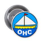Botón del logotipo del barco pins