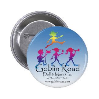 Botón del logotipo del camino del Goblin Pin
