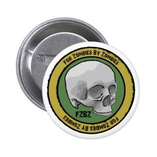 Botón del logotipo del cráneo de FZBZ… Pin