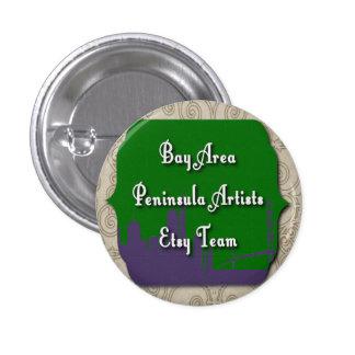 Botón del logotipo del equipo de los artistas de pins