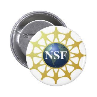 Botón del logotipo del NSF Pin Redondo De 2 Pulgadas