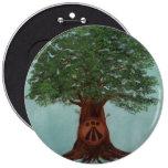 botón del logotipo del oaklight pin