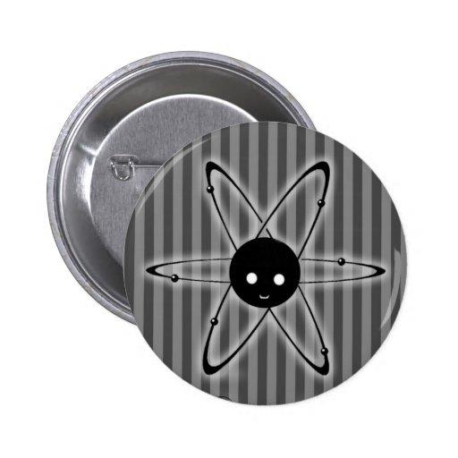 Botón del logotipo pin redondo de 2 pulgadas