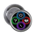 botón del logotipo pins