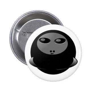 Botón del magneto pin redondo de 2 pulgadas