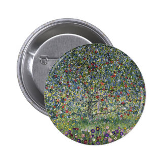 Botón del manzano de Gustavo Klimt Pin
