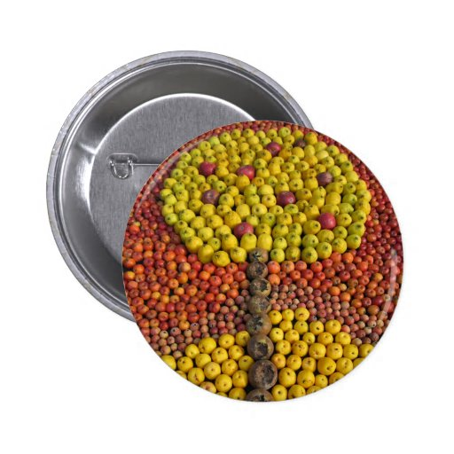 Botón del manzano pin