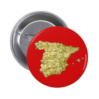 Botón del mapa de España Pins