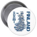 Botón del MAPA de FINLANDIA Pins