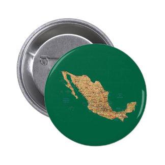 Botón del mapa de México Pins