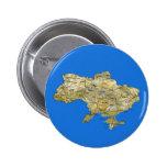 Botón del mapa de Ucrania Pin