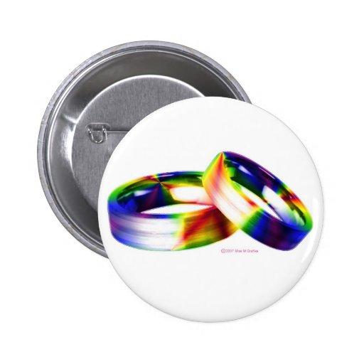 Botón del matrimonio homosexual pin