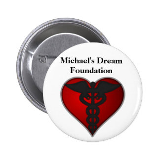 Botón del MDF Pin Redondo De 2 Pulgadas