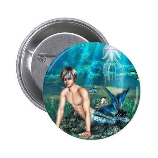 Botón del Merman Pin
