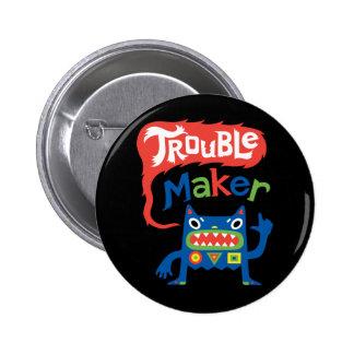 Botón del metal del negro del fabricante de proble pin