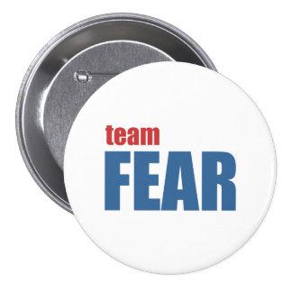 Botón del miedo del equipo pins