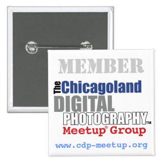 Botón del miembro del CDP Pin