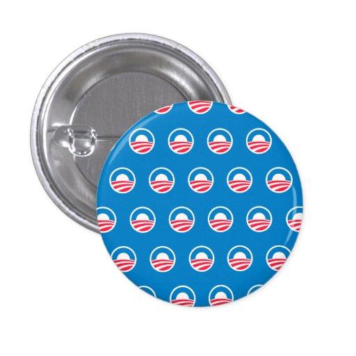 Botón del modelo de Obama Pin