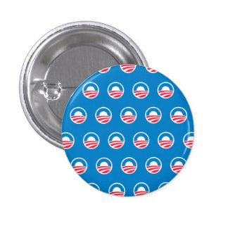 Botón del modelo de Obama Pin Redondo De 1 Pulgada
