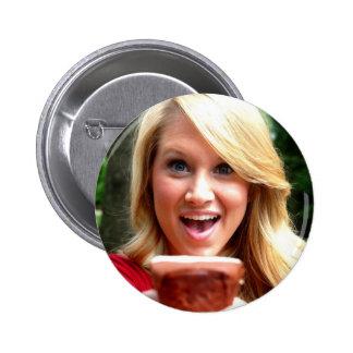 Botón del mollete de Bailey Pin Redondo De 2 Pulgadas